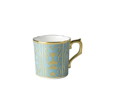 REGENCY TURQUOISE - COFFEE CUP