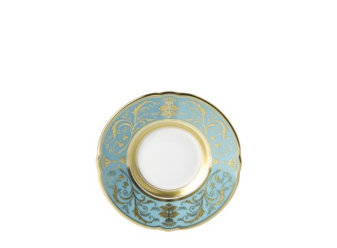 REGENCY TURQUOISE - COFFEE SAUCER