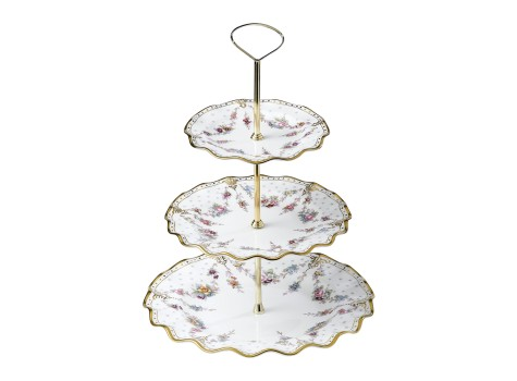 3 TIER CAKE STAND (BOXED)