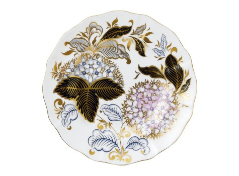 MIDWINTER BLUE 21.5CM PLATE (BOXED)