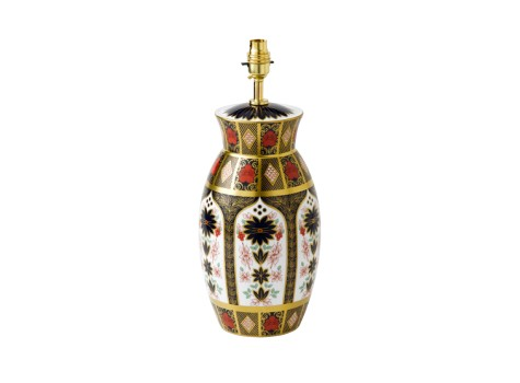 OLD IMARI SOLID GOLD BAND - LONGNOR LAMP