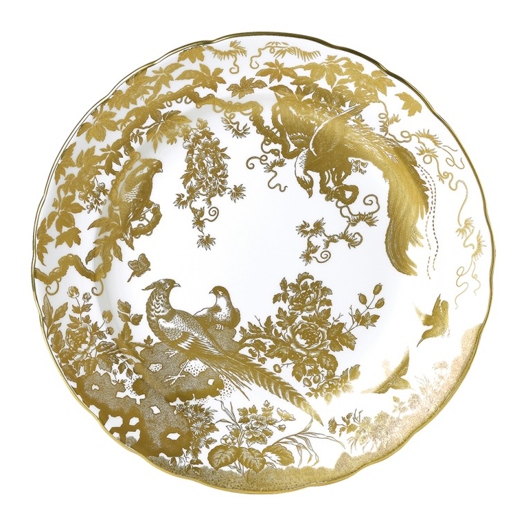 AVES GOLD - PLATE (27cm )