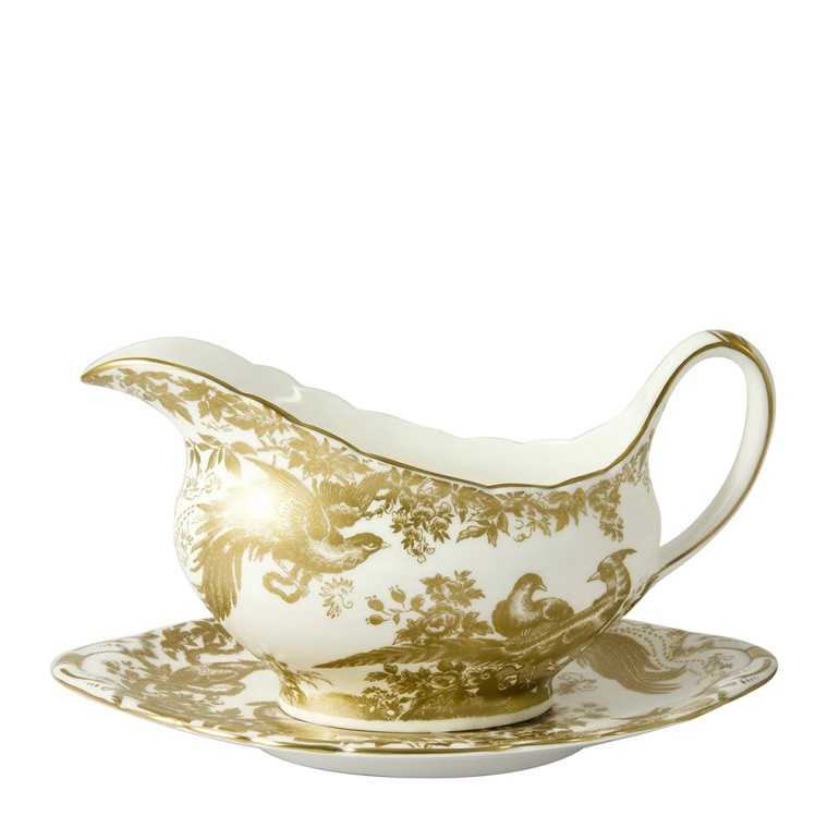 AVES GOLD - SAUCE BOAT STAND