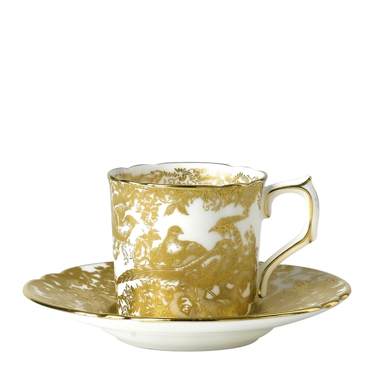 AVES GOLD - COFFEE SAUCER