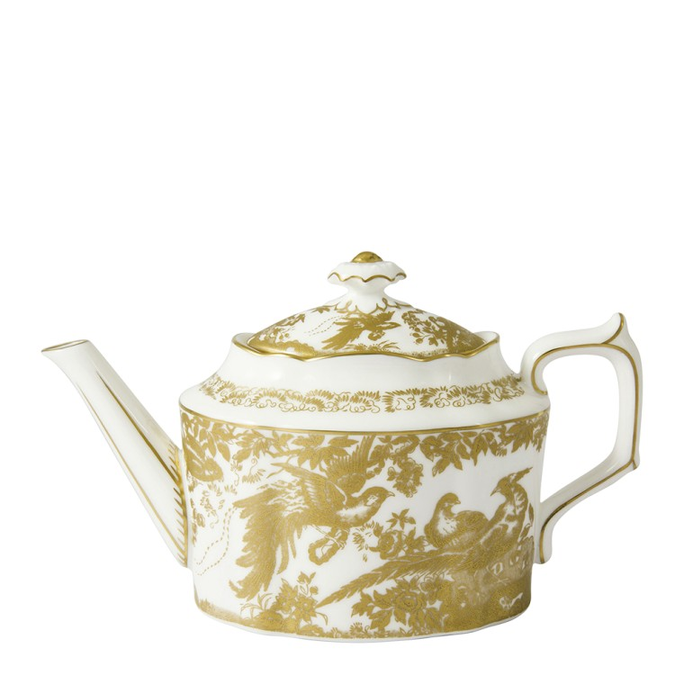 AVES GOLD - TEAPOT SMALL (90cl )