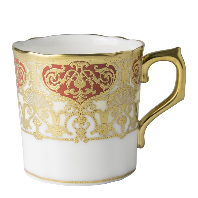 HERITAGE RED & CREAM - COFFEE CUP