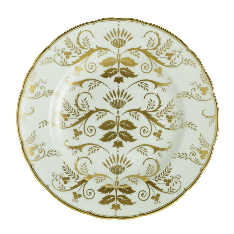 HARLEQUIN DARLEY ABBEY GREEN - PLATE (21.65cm )