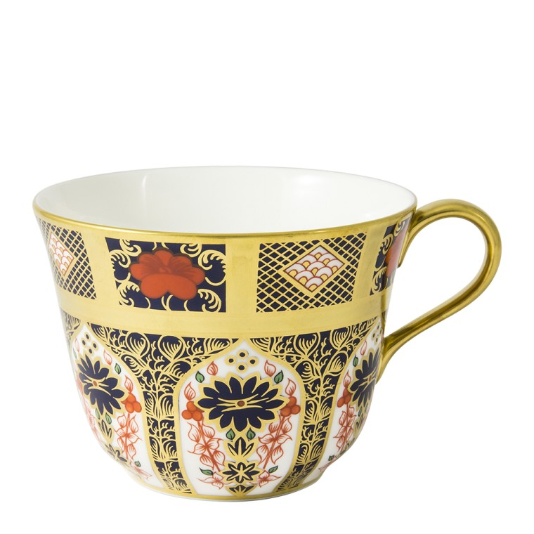 OLD IMARI SOLID GOLD BAND - BREAKFAST CUP