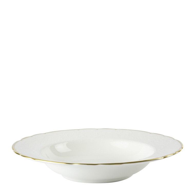 DARLEY ABBEY PURE GOLD - RIM SOUP (21.5cm)