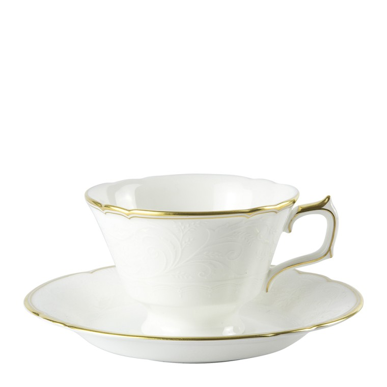 DARLEY ABBEY PURE GOLD - TEA SAUCER