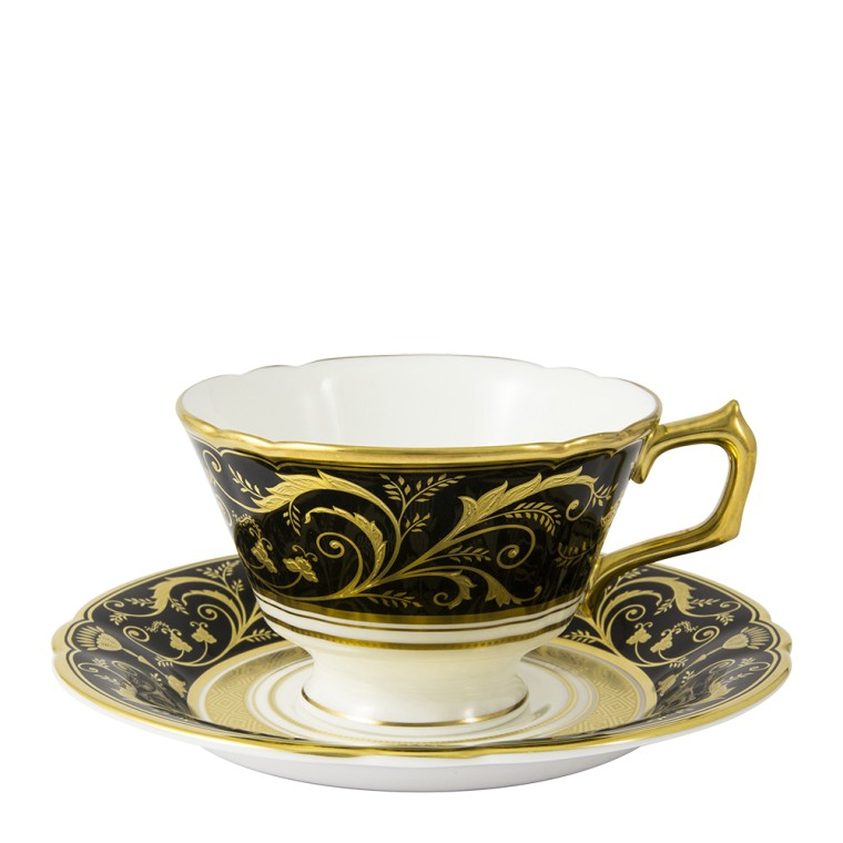 REGENCY BLACK - TEA CUP