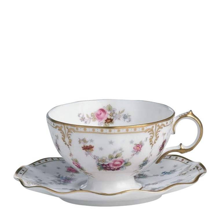ROYAL ANTOINETTE - TEA CUP & SAUCER