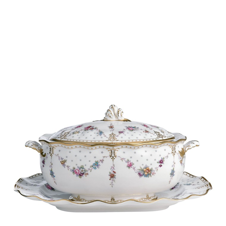 ROYAL ANTOINETTE - SOUP TUREEN STAND