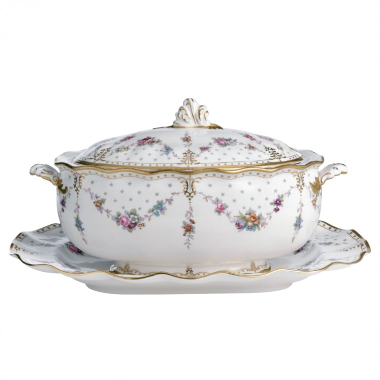 ROYAL ANTOINETTE - SOUP TUREEN & COVER