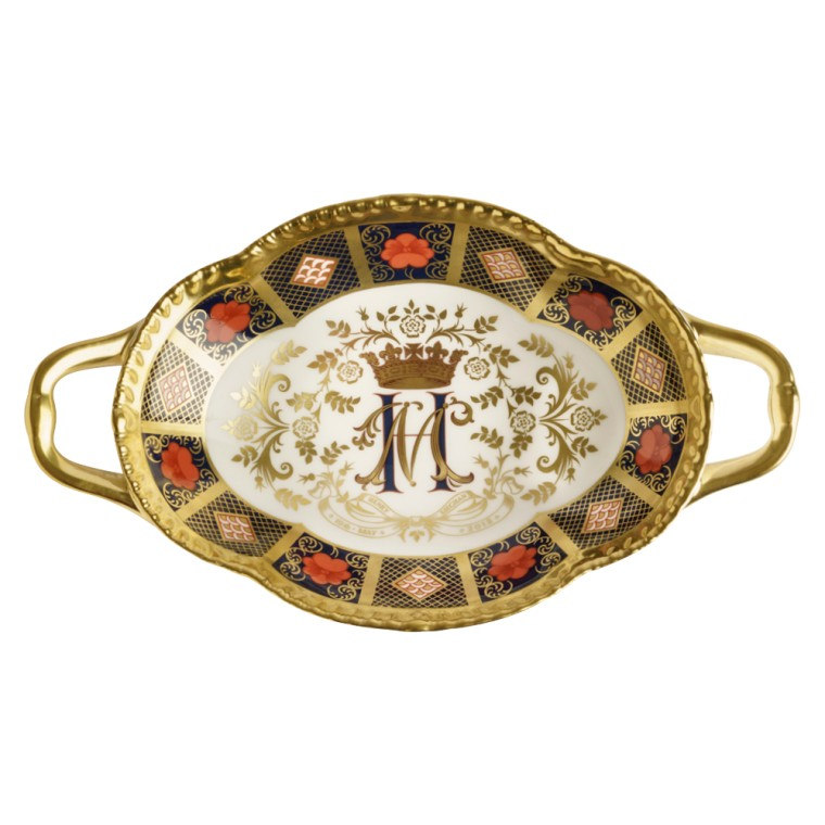 OLD IMARI SOLID GOLD BAND MELBOURNE TRAY - L/E 500