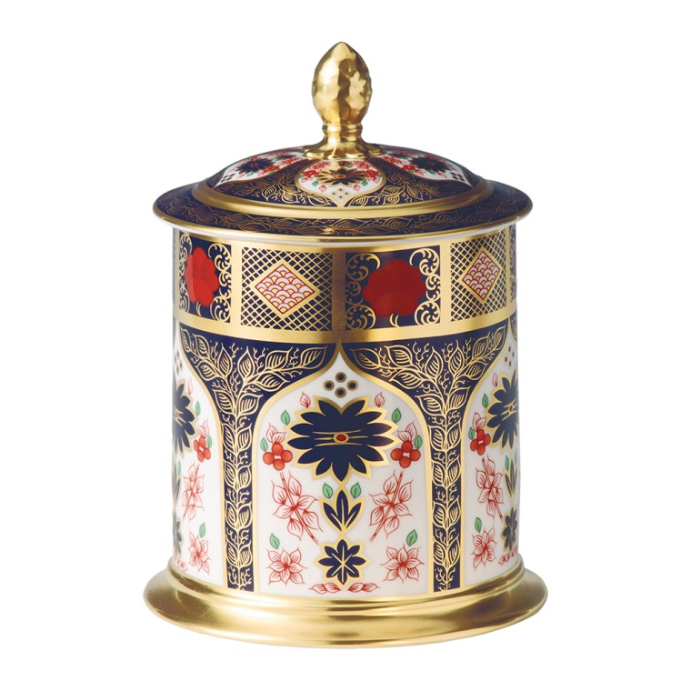 OLD IMARI SOLID GOLD BAND - STORAGE JAR (213cl)