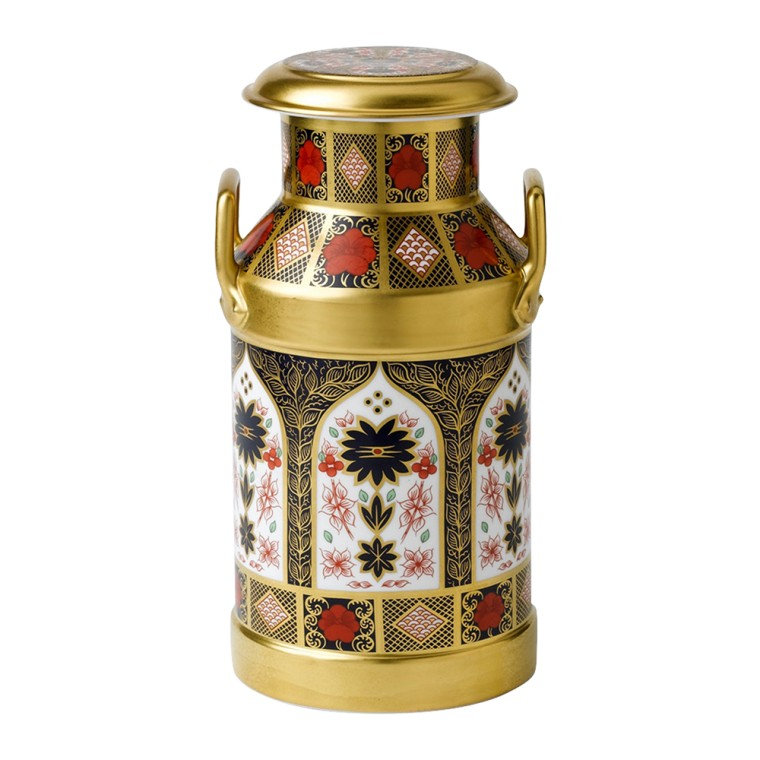 OLD IMARI SOLID GOLD BAND - CHURN