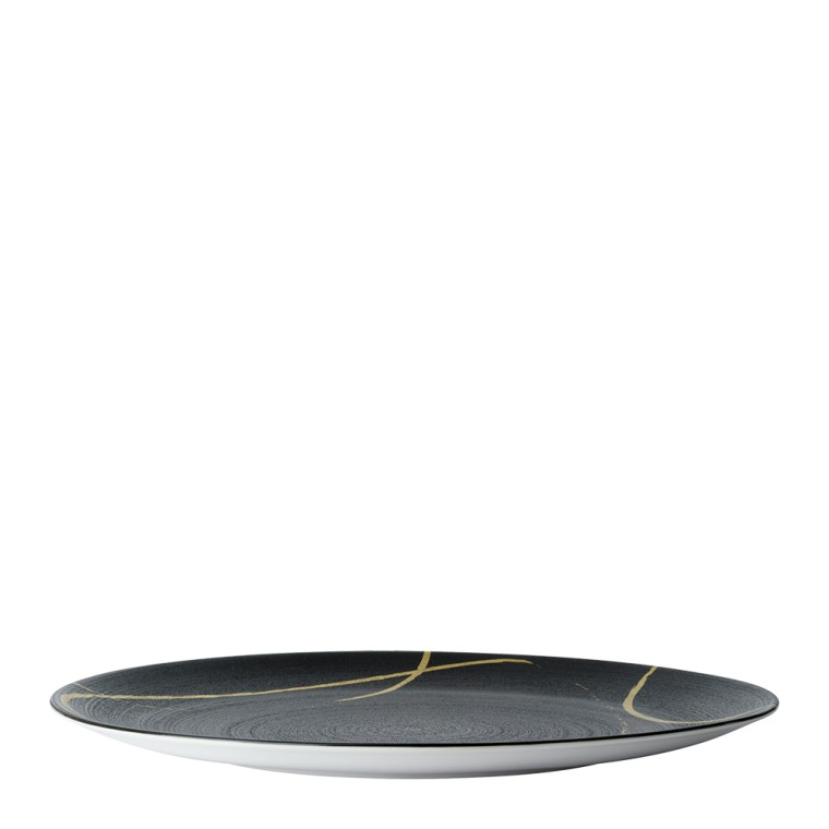 SKETCH CHARCOAL - COUPE PLATE (34cm)