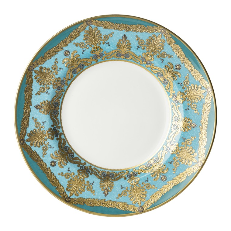 TURQUOISE PALACE - 27CM PLATE