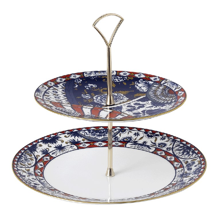 CAKE STAND - 2 TIER
