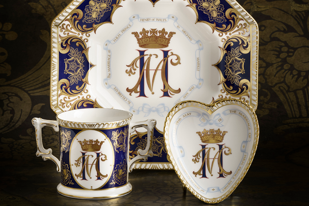 Royal Wedding Commemorative Collection - Royal Crown Derby