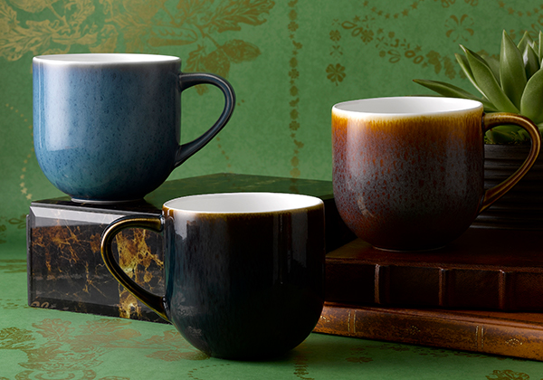 Art Glaze Urban Mugs - Royal Crown Derby