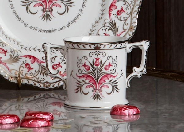 Queen's Platinum Wedding Anniversary Collection Loving Cup