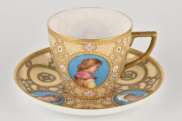 James Rouse Senior - Cup and Saucer 1884