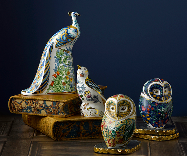 Manor Peacock - Royal Crown Derby