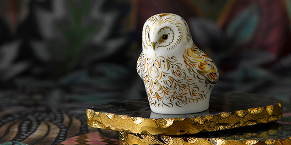 Owlet - Royal Crown Derby