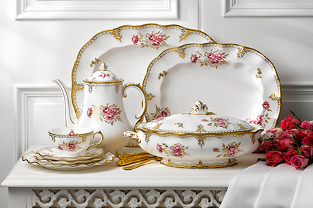 Royal Pinxton Rose - Royal Crown Derby