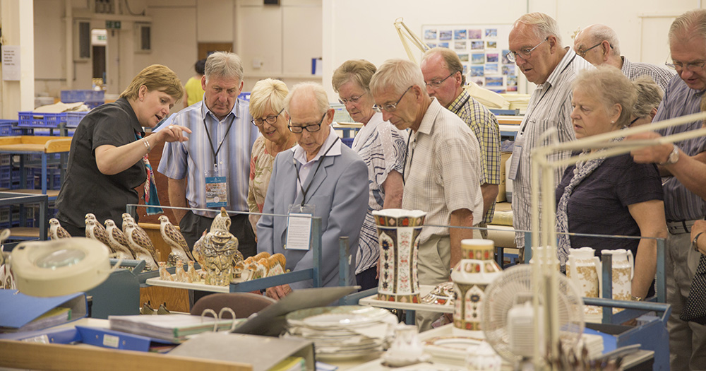 Royal Crown Derby Factory Tours