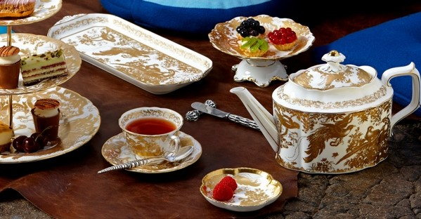 Gold Aves Afternoon Tea Style - Royal Crown Derby