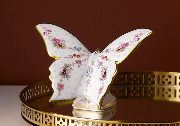 Royal Antoinette Butterfly - Royal Crown Derby