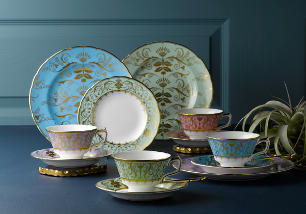 Darley Abbey and Darley Abbey Harlequin Tableware - Royal Crown Derby