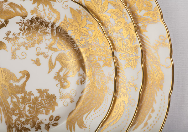 Gold Aves Tableware - Royal Crown derby