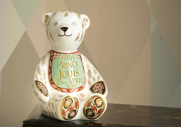 Bib Bear - Royal Crown Derby