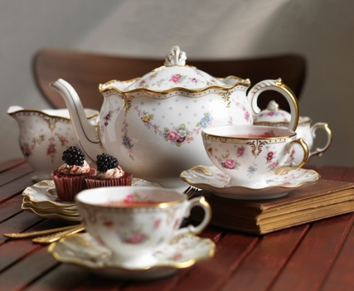 Royal Antoinette Afternoon Tea Style - Royal Crown Derby