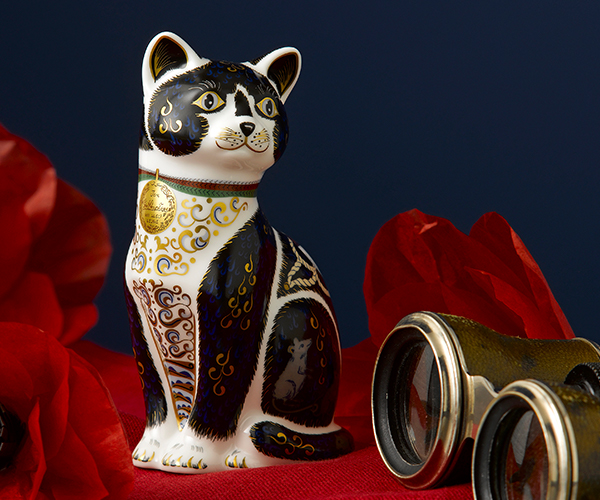War Cat- Royal Crown Derby